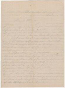 1864 CIVIL WAR CONFEDERATE Soldier Letter - 11th MS  PETERSBURG   BATTLE Content