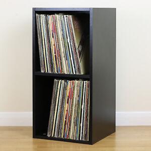 Image Is Loading Large Black Square LP Vinyl Music Record Storage