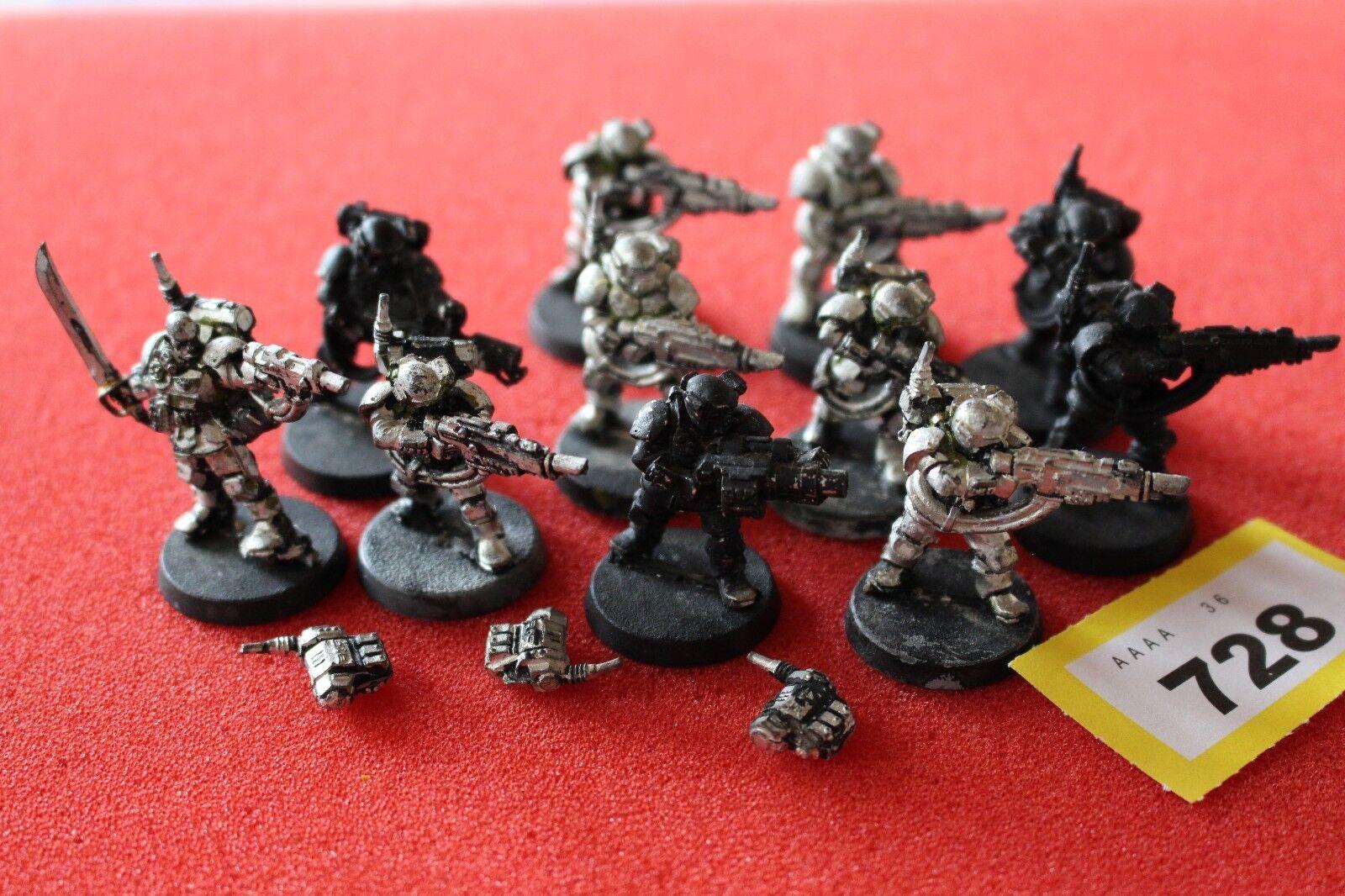 giocos lavoronegozio WARHAMMER 40k kasrkin Stormtrooper  Squad di mettuttio 11 cifra fuori catalogo  fino al 60% di sconto