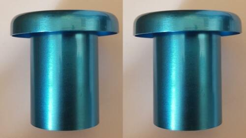 Cold Air Funnel Trumpet 70mm x 46mm Blue One Pair