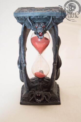 Sanduhr Gothic-Style Fledermaus Vampir Dracula roter Sand Fledermaus 766-6757