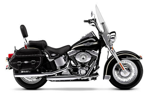 Quick Detachable Bag System For Harley Davidson Heritage Softail - 2000 To 2002