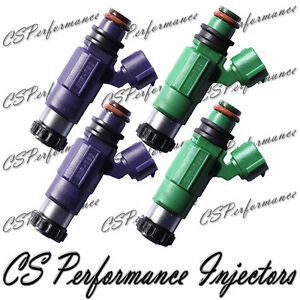 4 INP-062 Rebuilt by Master ASE Mechanic USA OEM Nikki Fuel Injectors Set