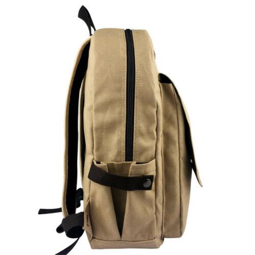 Men Vintage Canvas Backpack JoJo/'s Bizarre Adventure Rucksack School Travel Bags