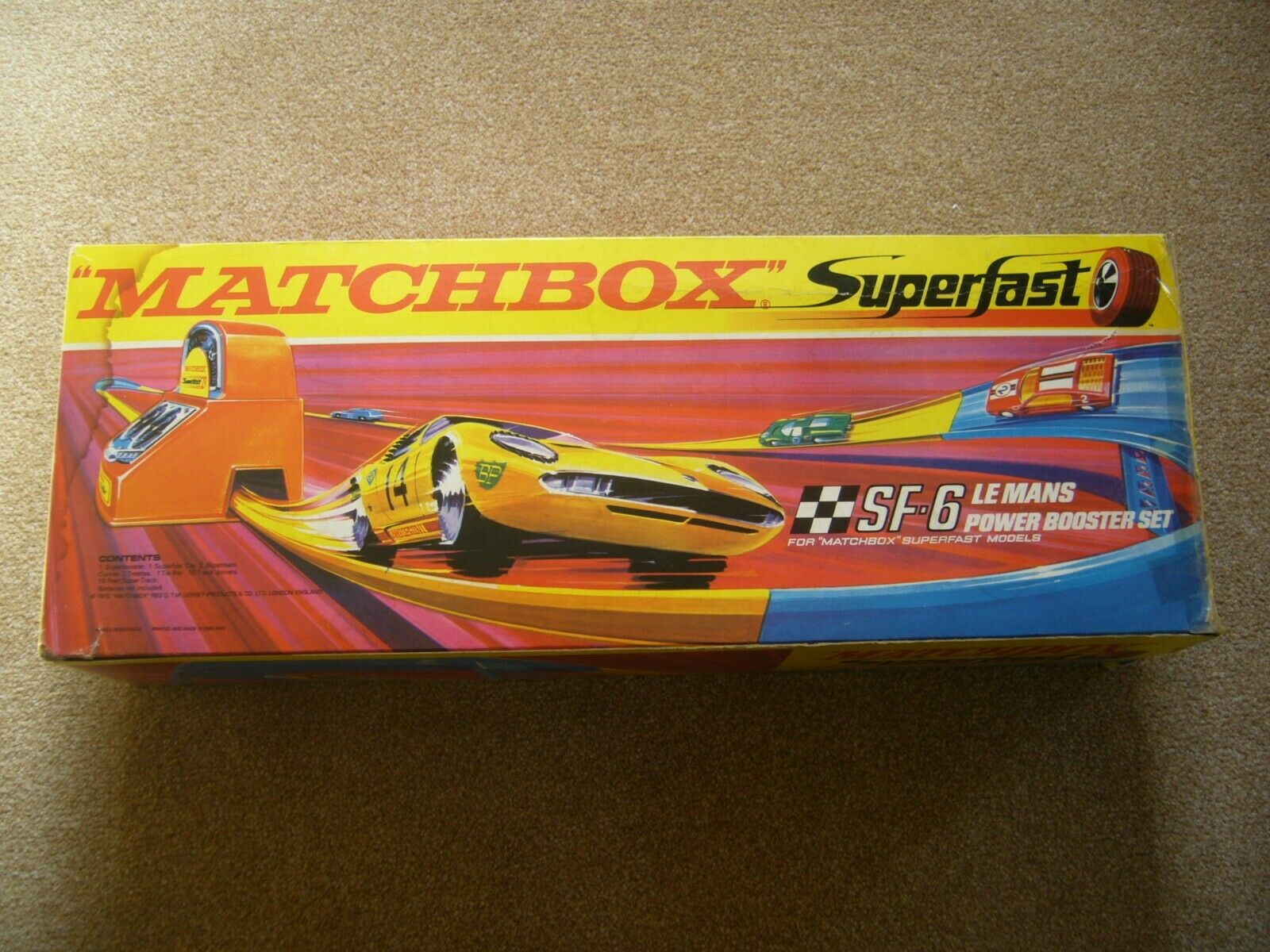MATCHBOX SF-6 Le Mans Power Booster Set