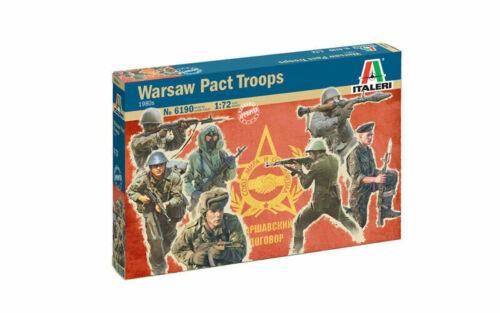 Italeri Warsaw Pact Troops 1980s Figuren Figur 1:72 Art 6190