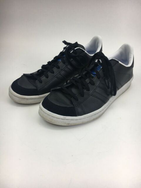 Mens Black ADIDAS Limited Edition ABDUL JABBAR Stan Smith Leather Shoes 8.5  EUC