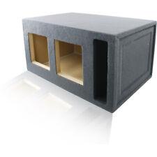 """2 KICKER 12"""" L7 SOLO-BARIC L7S L7R L5 SQUARE 2.44 FT³ PORTED BOX ENCLOSURE FOR"""