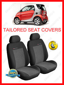 Image Is Loading Tailored Seat Covers For Smart ForTwo 1998 2007