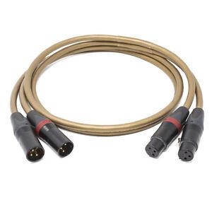 Van den Hul The Integración Hybrid Par De Cables Completado Custom XLR Neutrik