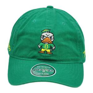 NCAA-Zephyr-Oregon-Ducks-Tokyo-Dachi-Coleccion-Verde-Relajado-Gorro-Ajustable