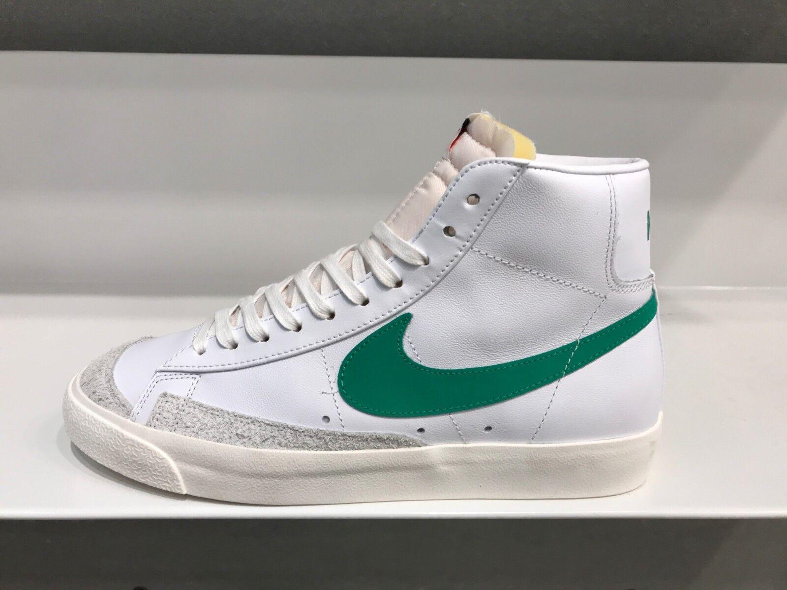 Envío ahora Nike Blazer Perfil Medio '77 Vntg 4-13 Lúcido verde Sail blancoo