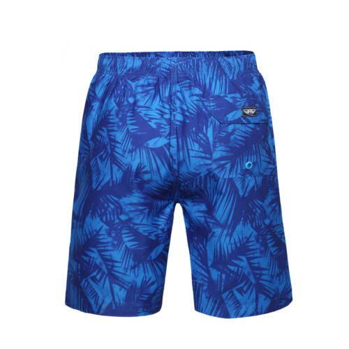 Men/'s Quick Dry Drawstring Waist Swim Trunks Beach Board Shorts with Mesh Lining