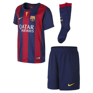 nike fc barcelona little boys home kit 2014 15 ebay details about nike fc barcelona little boys home kit 2014 15