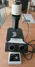 Olympus Ck2 Inverted Microscope As Is For Parts Or Repair See Pix