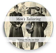 Rare Books on DVD Tailoring Fashion Pattern Design Suit Cutting Sewing Repair 37