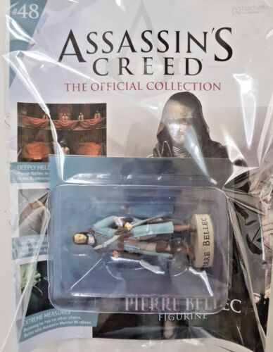 ASSASSINS CREED OFFICIAL MODEL COLLECTION = # 48 = PIERRE BELLEC
