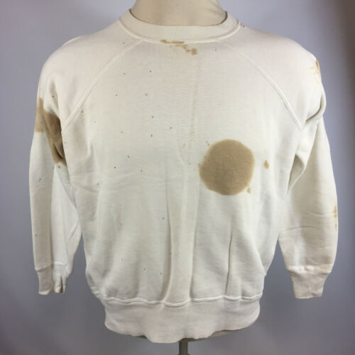Vintage 40s 50s Distressed Trashed Worn Faded Penn