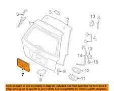 FORD OEM Front Bumper-License Bracket Mount Kit N807572S439