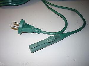 Details Zu Ca 7 Meter Kabel Stromleitung Farbe Grun Geeignet Fur Vorwerk Kobold 140 150