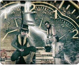 Steampunk (time clock) Mousepad