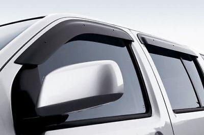 Genuine Nissan 2005-2012 Pathfinder Side Window Deflectors