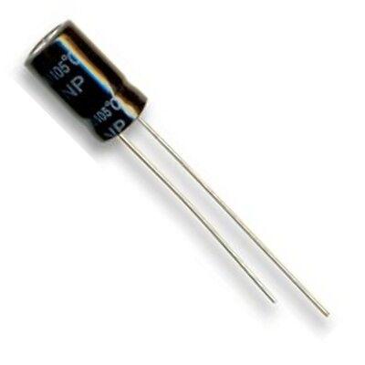 Obligatorisch 100uf 16v Non-polarised Electrolytic Capacitor-10 Pack