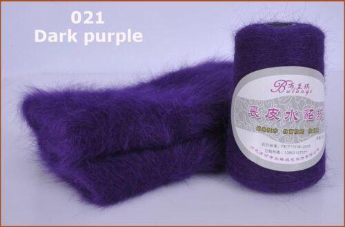 women Plush mink cashmere Beret hat Winter warm knitting cap free shipping S328