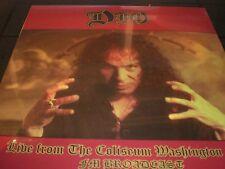 DIO Live From The Coliseum Washington  vinyl 2 LP unplayed  SEALED