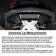 100-034-Universal-Foam-Front-Bumper-Lip-Splitter-Chin-Side-Spoiler-Body-Kit-Trim thumbnail 7