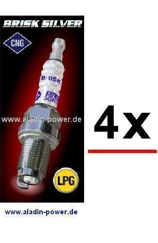4x GAS Zündkerzen Alfa Fiat Lancia LPG Autogas Erdgas CNG