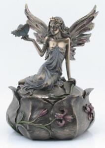 Boîte à bijoux fée Art Nouveau box de couvercle Veronese signé figure elfe neuf O9p4sR6x-08040035-169508625