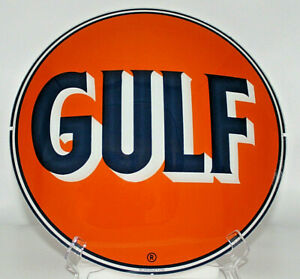 GULF NO-NOX GAS PUMP GLOBE
