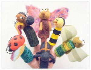 Petites-betes-du-jardin-marionnettes-a-doigts-en-laine-feutree