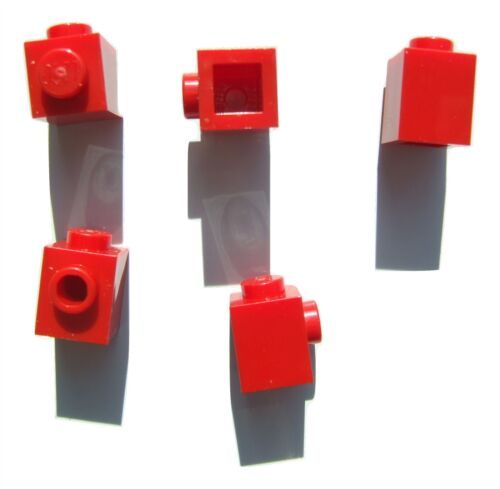 4558886 5 x Lego Red brick size 1x1 Parts /& Pieces with 1 knob