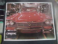 CHRISTINE, nr mint orig LCS [Stephen King's 1958 Plymouth Fury is not a lemon]