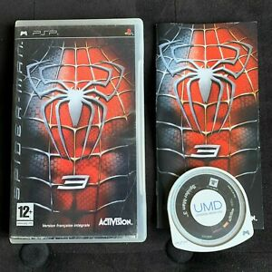 Spider-Man-3-Jeu-Playstation-PSP-Complet