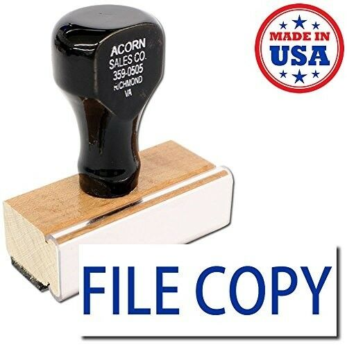 FILE COPY Round Rubber Stamp Trodat Ideal 170R STOCK147
