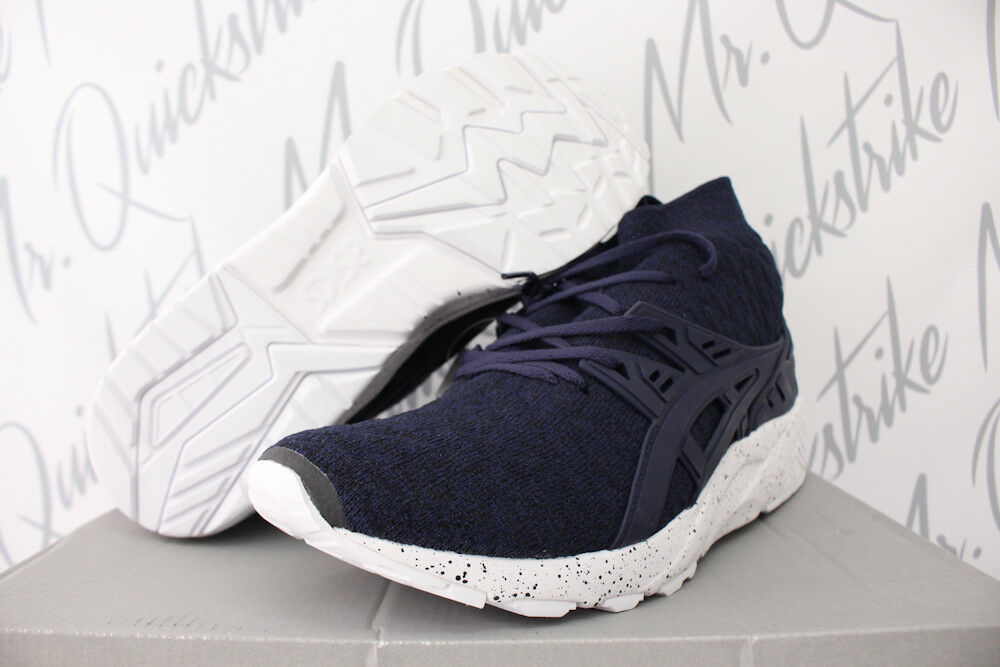 ASICS GEL KAYANO TRAINER MT Blau SZ 8 PEACOAT NAVY Blau MT WEISS TRAIL HN7P1.5858 1244e8