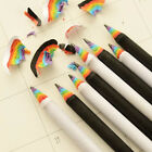2Pcs Black and White Rainbow Pencil Drawing Painting Pencils Stationery New
