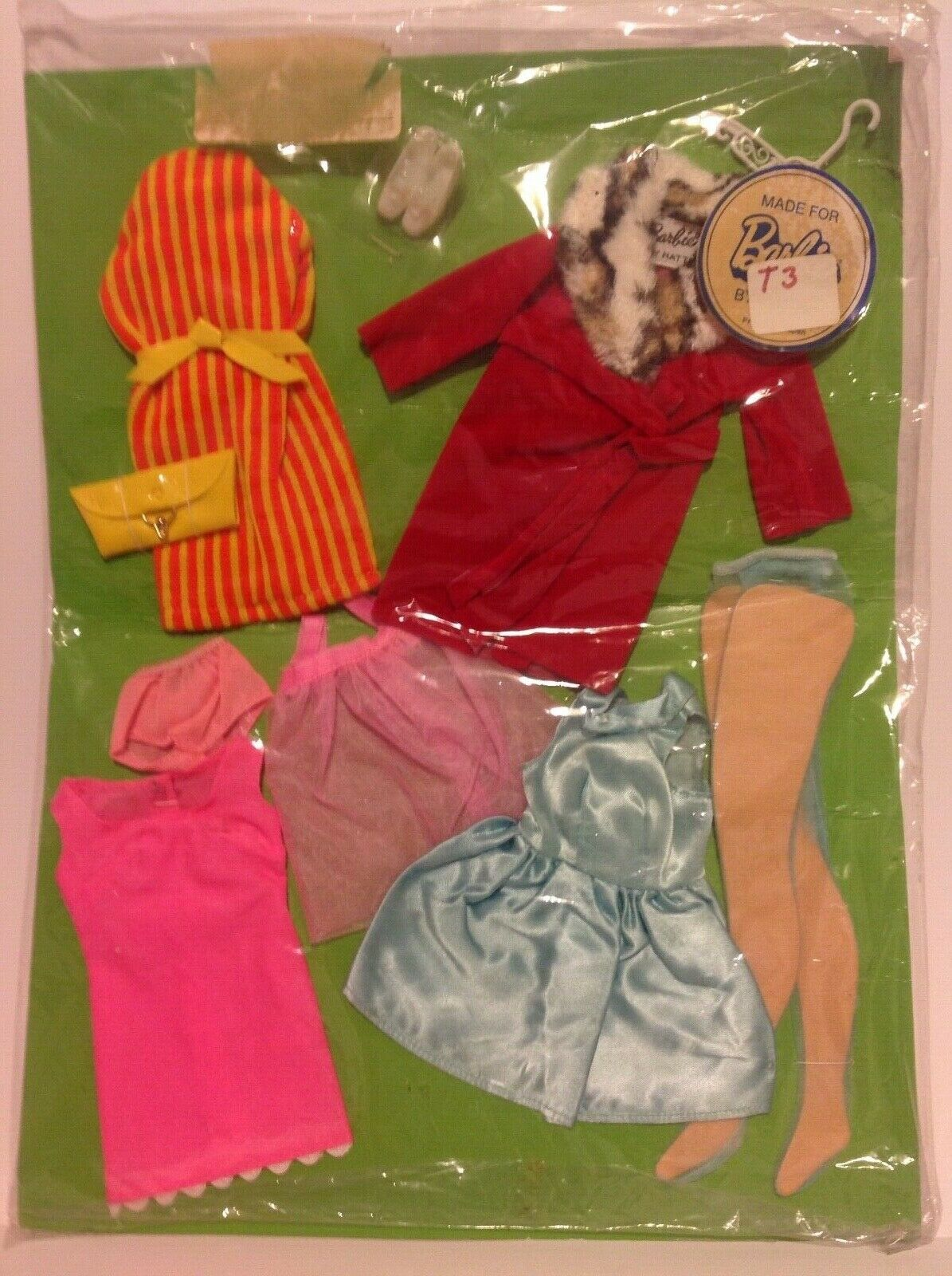 Glamour Vintage Barbie Sears exclusivo grupo ex Menta cosido en la tarjeta