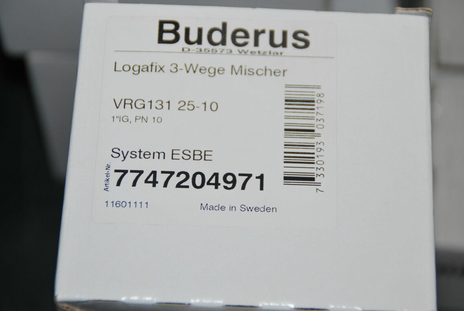 BOSCH BUDERUS 7747204971 LOGAFIX 3-WEGE MISCHER 1