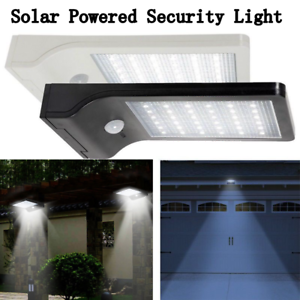 Sensational Outdoor Led Pir Motion Security Flood Light 36 Led Solar Powered Wiring Database Xlexigelartorg