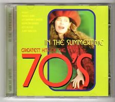 (GY228) Various Artists, In The Summertime, Greatest Hits of the 70s - 1997 CD