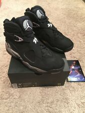 0606f36f02f item 3 Nike Air Jordan 8 Retro Chrome Black Metallic Silver 305381-003 Mens  Size 9.5 -Nike Air Jordan 8 Retro Chrome Black Metallic Silver 305381-003  Mens ...