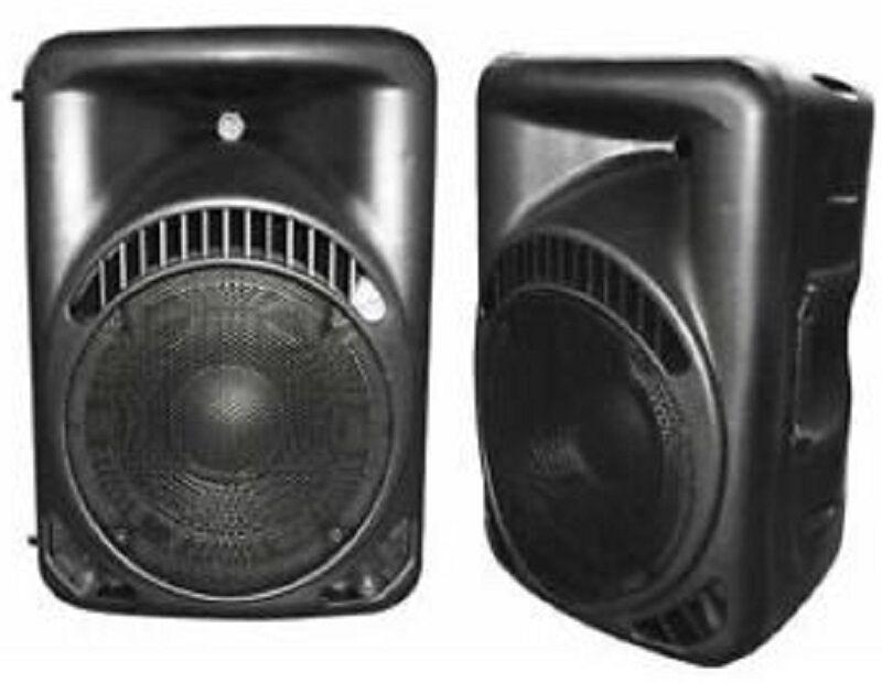 CP speakers/box active 150w Karma bx6208a 90 DB DJ