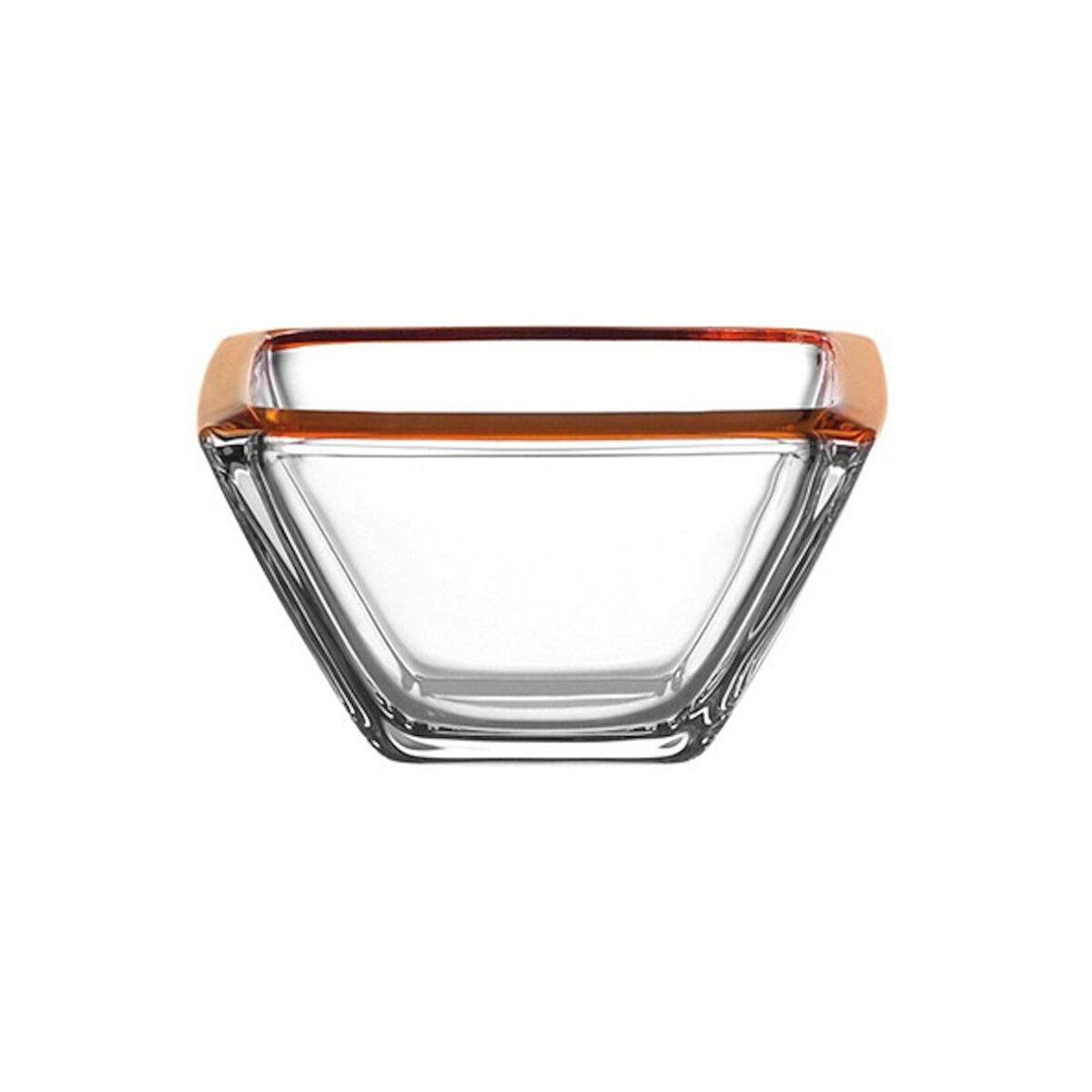 Leonardo - Corner Arancione - 6 Coppette cm 12,5x12,5x h 7 -  Rivenditore