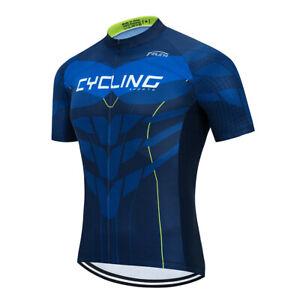 Men/'s Cycling Jersey Clothing Bicycle Sportswear Short Sleeve Bike Shirt Top