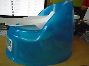 Excellent Details About Blue Baby Bjorn Potty Training Toilet Chair Babybjorn Child Seat Portable Creativecarmelina Interior Chair Design Creativecarmelinacom