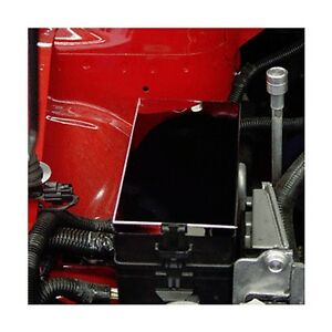 05-09 ford mustang stainless steel fuse box cover mirror ... 05 ford mustang fuse diagram #2